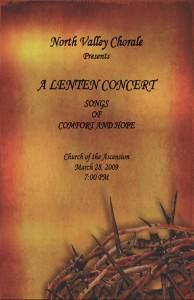 Lenten Concert_Mar2009